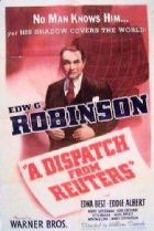 A Dispatch from Reuter's 1940 DVD - Edward G. Robinson / Edna Best